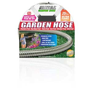 Harvest Trading Group Metal Garden Hose