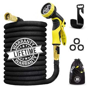 J&B Heavy Duty Expandable Garden Hose