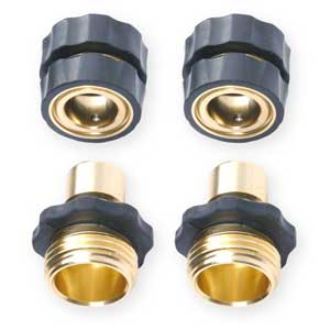 Garden Hose Quick Connector Value Pack