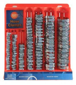 Koehler 150 Piece Hose Clamp Set