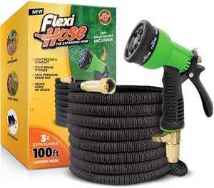 Flexi 100 Ft Hose with 8 Function Nozzle