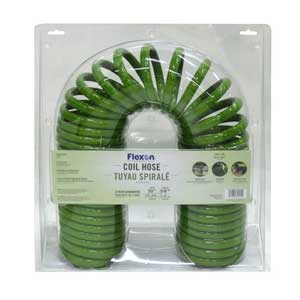Flexon 50 ft coil garden hose