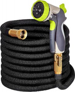 Gamegie 100ft Black Garden Hose