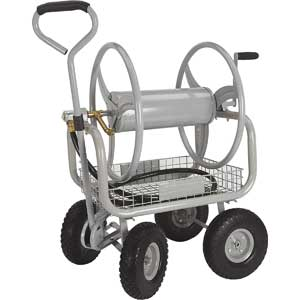 Strongway Garden Hose Reel Cart With Wheels