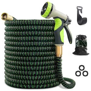 VIENECI 100 ft Flexible Garden Hose