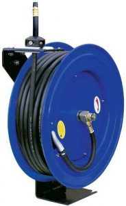 100 ft retractable air hose reel