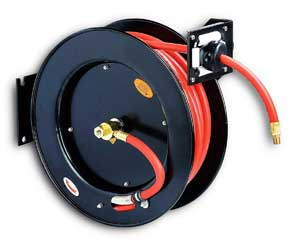 air hose reel retractable