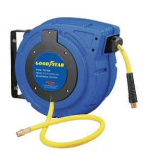 goodyear retractable air hose reel