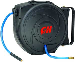 retractable hose reel with 50ft air hose