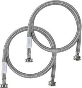 short washing machine hose