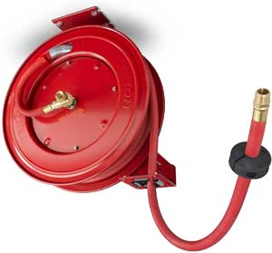 tekton retractable air hose reel