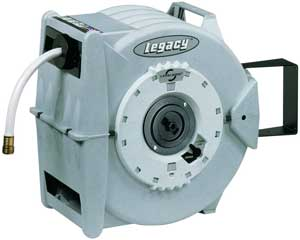 legacy retractable garden hose reel