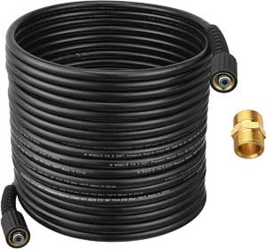 M MINGLE 50ft Pressure Washer Hose