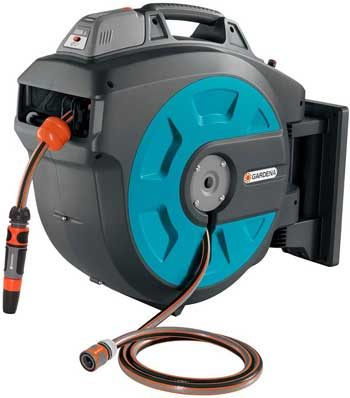 Battery Operated Hose Reel